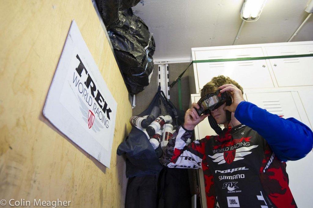 Justin Leov - der Fahrer neben Aaron Gwin im Trek Team