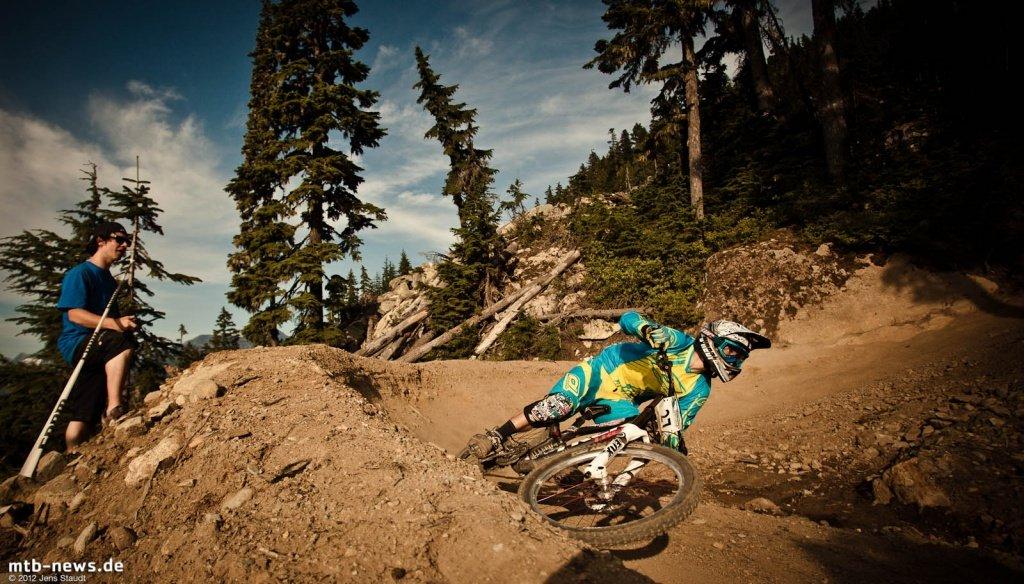 Whistler Crankworx Garbanzo Downhill by Jens Staudt - 9971