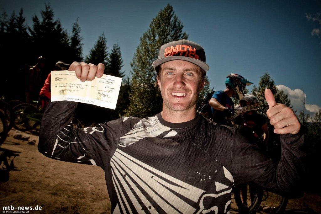 Winner Tyler McCaul
