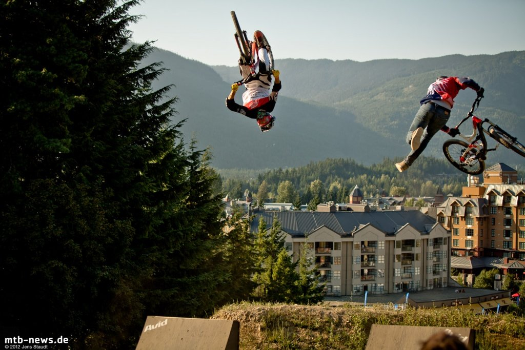 Whistler Crankworx Speed and Style - Rotationsbattle