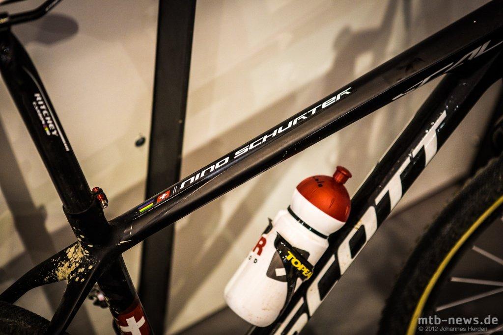 Nino Schurters Olympia-Bike