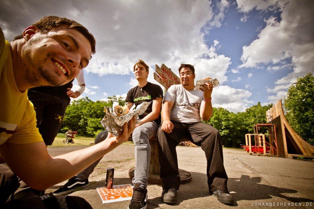 Döner-Essen am Mellowpark