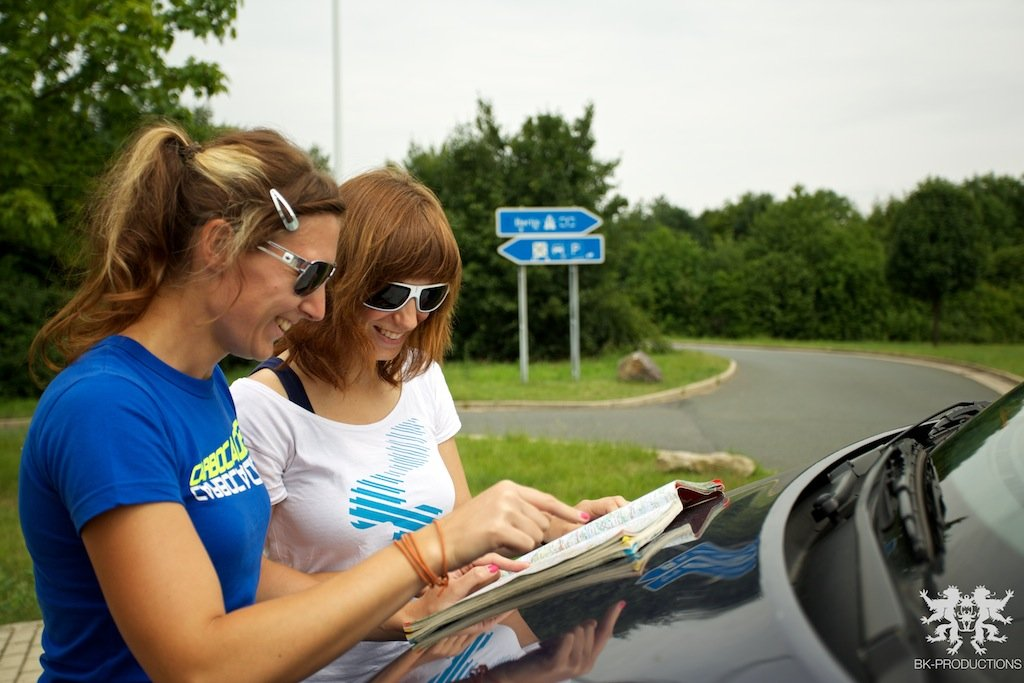 Pumptrackliebe Roadtrip: Steffie und Laura