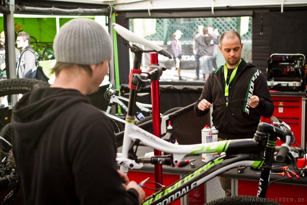 Bikes fitmachen