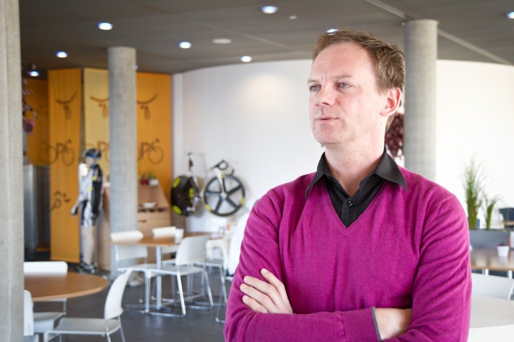UCI MTB Koordinator Peter Van Den Abeele