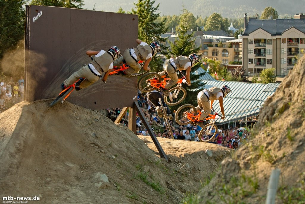 Whistler Crankworx Speed and Style - Wallsequenz