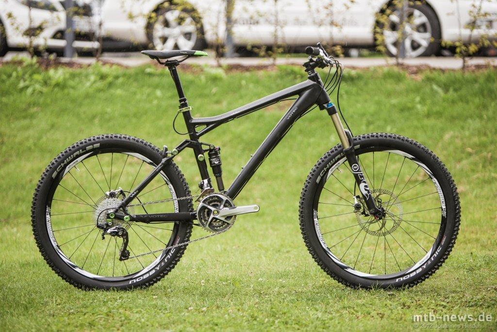 Clean, schwarz und grün: Das V.M150 sieht nach einem interessanten Trailbike aus