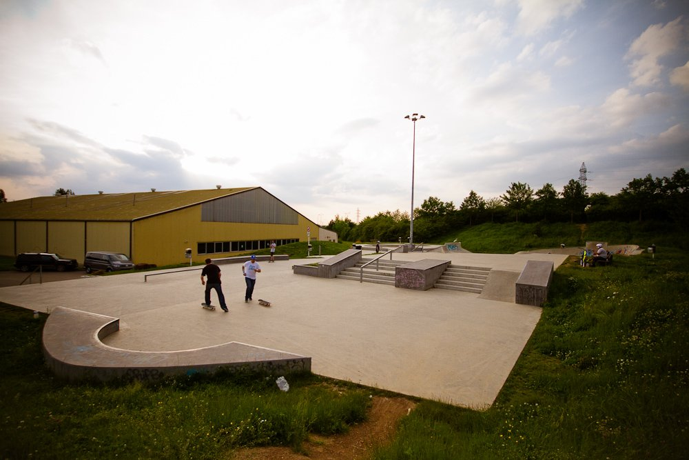"16 - Der ""Red Rock""-Skatepark in Schifflange"