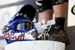 Brook Macdonalds Helm und Schuhe