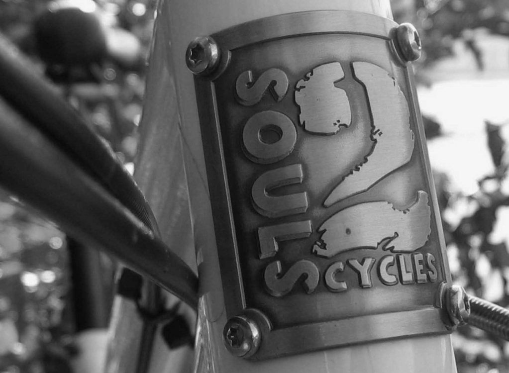 2Soulscycles Steuerrohr Badge