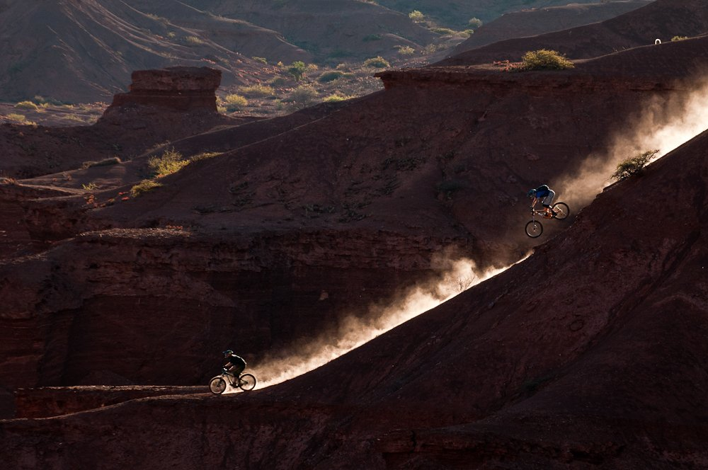 Sorge und Kinrade in Argentinien - Foto: John Wellburn/Red Bull Content Pool
