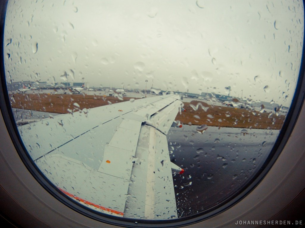 2 Über London nach San Francisco - Regen...