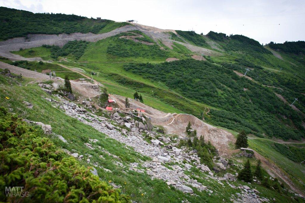 der Kurs des Châtel Mountain Style 2012