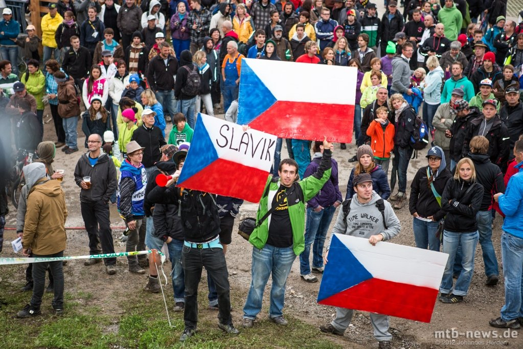 Die tschechischen Fans waren in der Überzahl