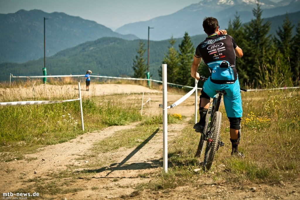 Whistler Crankworx Enduro - Brian Lopes