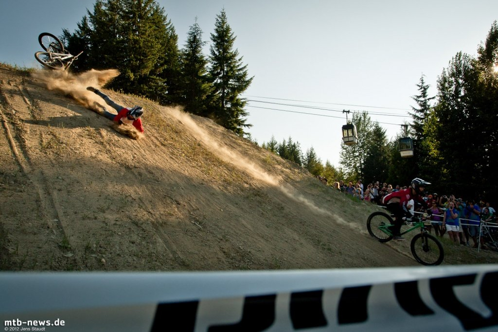 Whistler Crankworx Speed and Style - Unterdrehter Flip