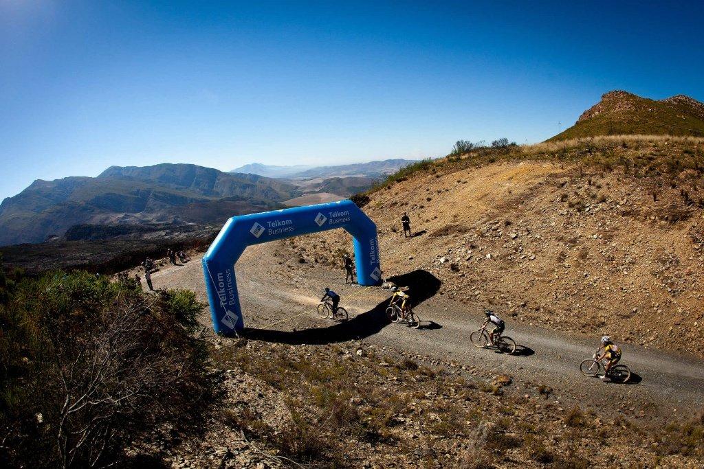 3. Etappe - Kevin Evans und David Geroge gewinnen den Telkom-Hotspot