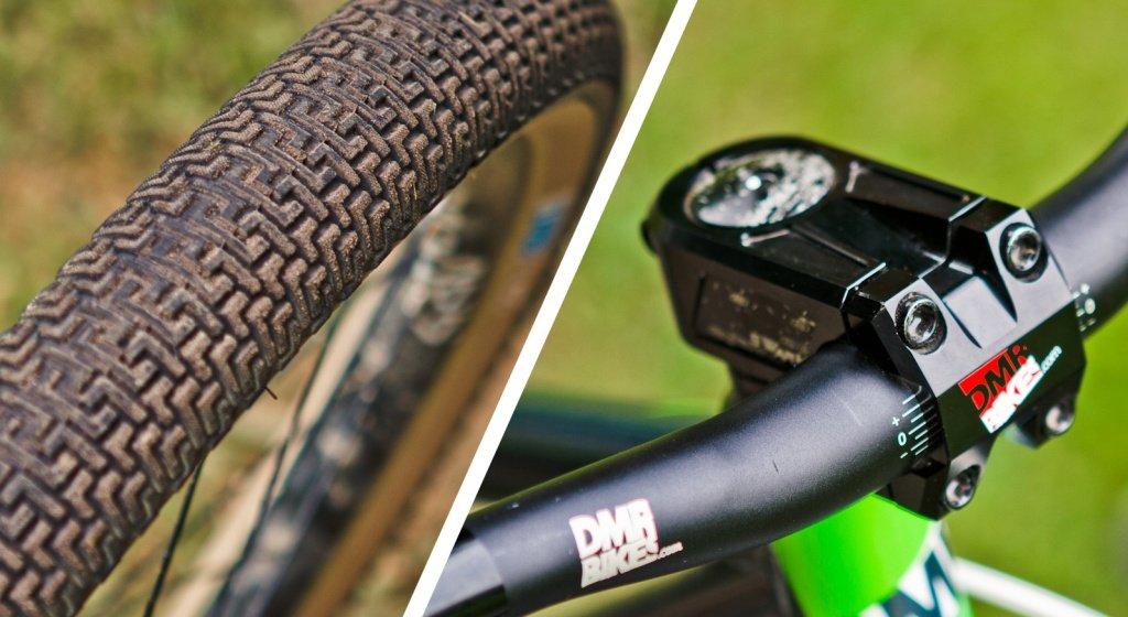Reifenprofil und DMR Vorbau