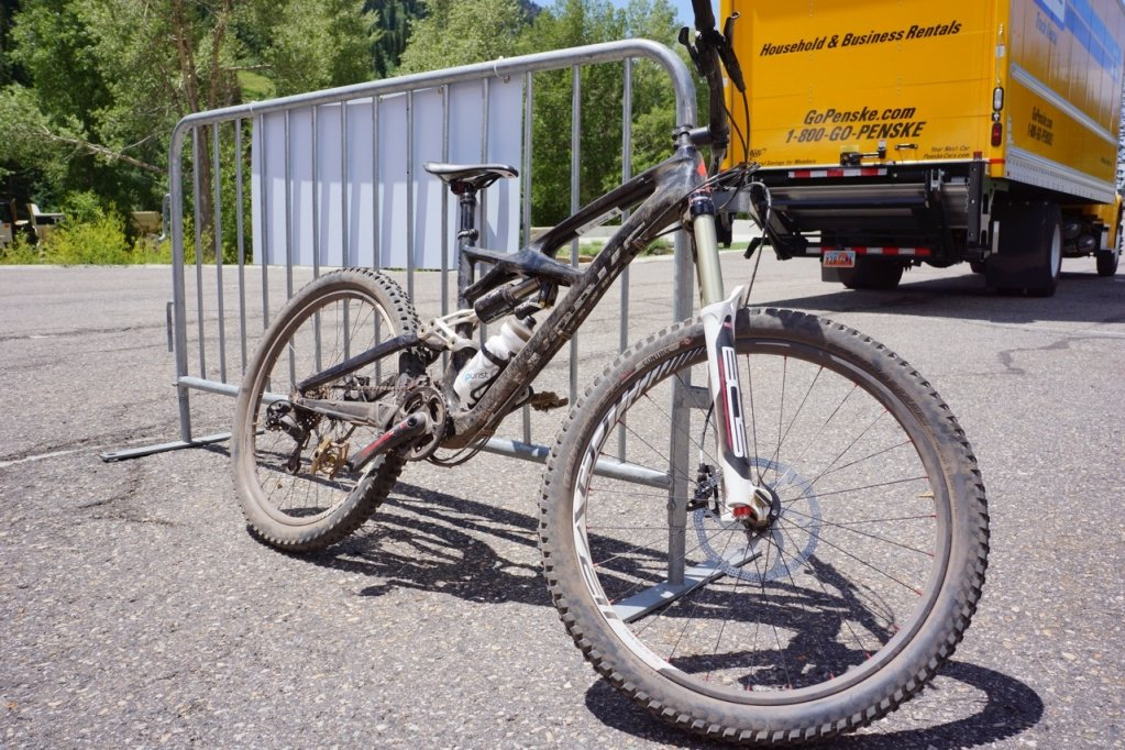 Das Specialized Enduro von Produktmanager Brandon Sloan