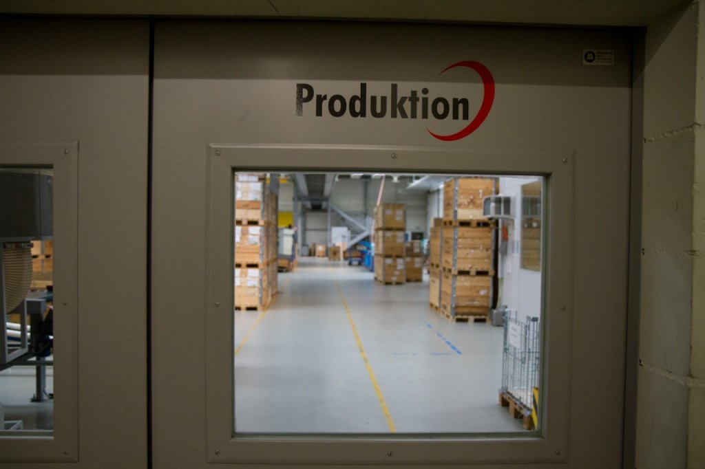 DT-Swiss Eingang zur Produktion