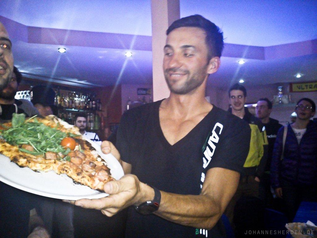 Fazit: Manuel Fumic fährt besser MTB als er Pizza bäckt!