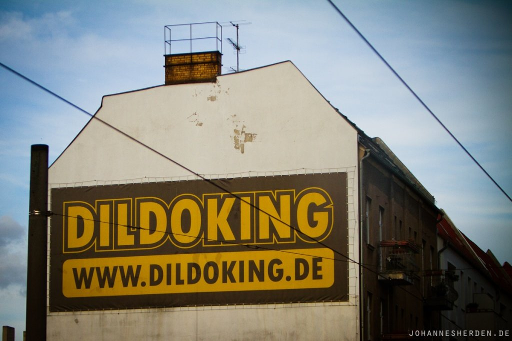 Werbung in Berlin...