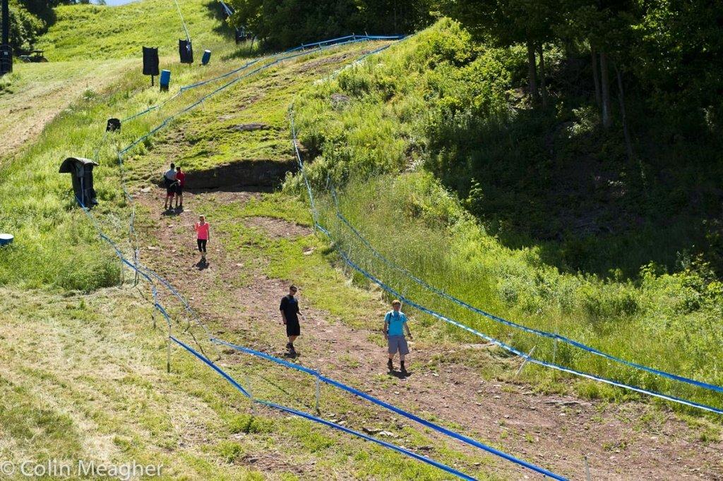 Downhill: Track Walk