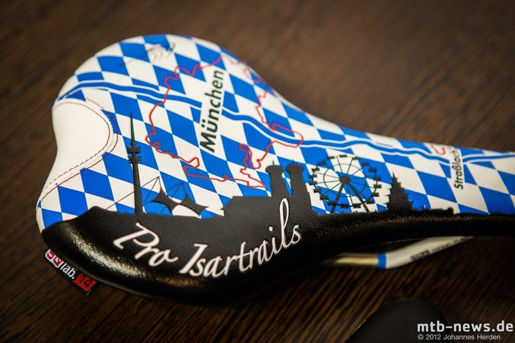 Special Feature-Sattel zum Thema Isartrails