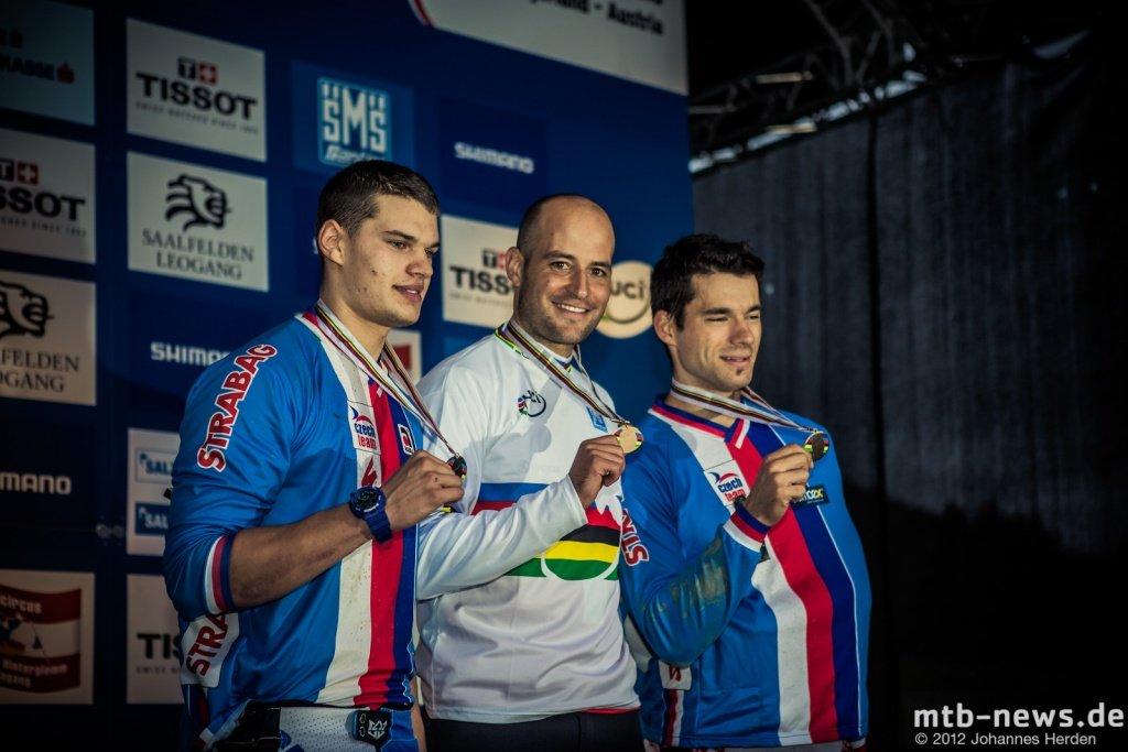 Die Gewinner: Mechura, Rinderknecht, Slavik