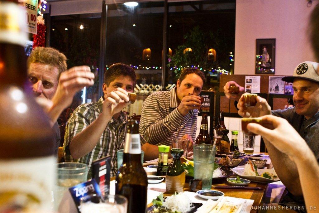 75 Cheers: Letzter Abend in Kalifornien