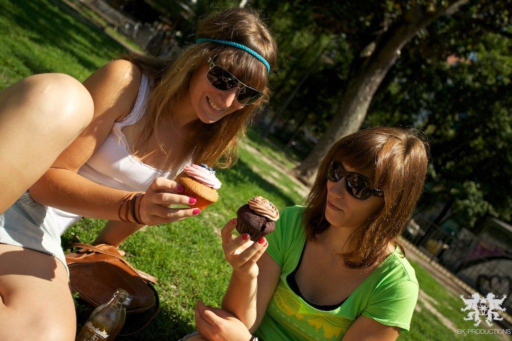 Pumptrackliebe Roadtrip: Cupcakes essen