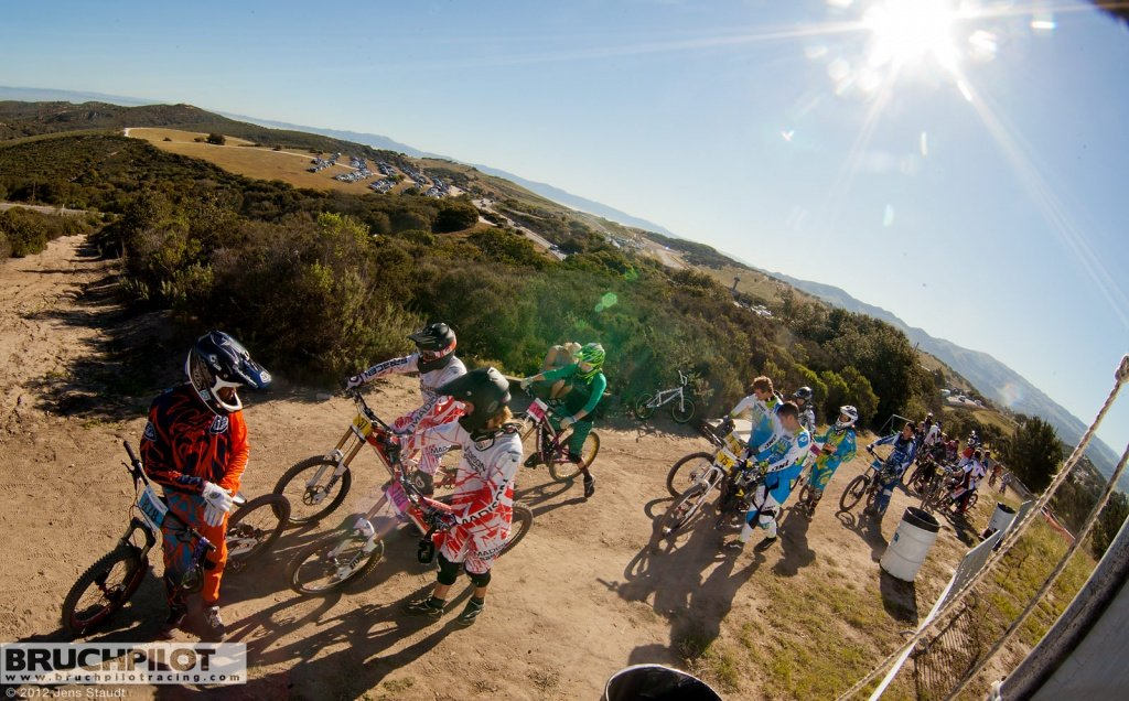 Sea Otter Downhill Warteschlange