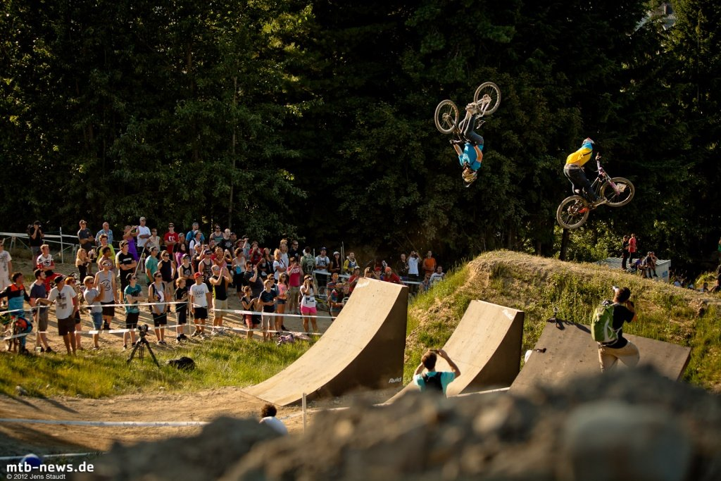 Whistler Crankworx Speed and Style - 1. Kickerset