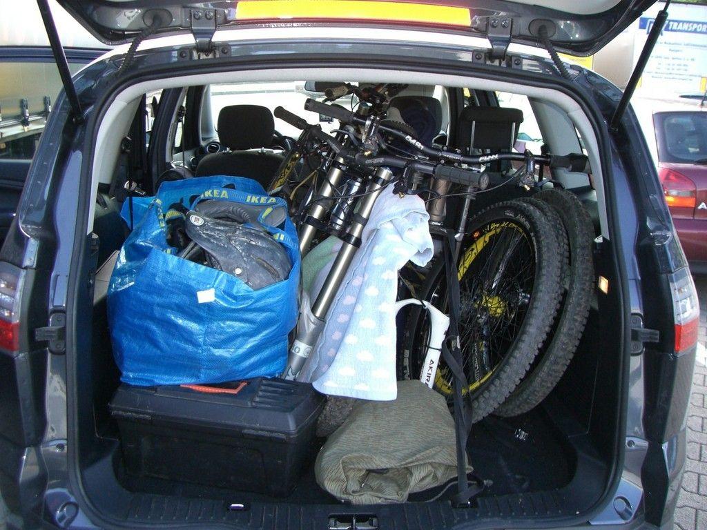 rennrad mountainbike transport im ford s max sonstige bikethemen. Black Bedroom Furniture Sets. Home Design Ideas