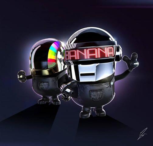 Daft Punk Minions