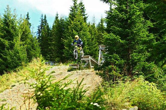 Dropbatterie - Bikepark Hafjell