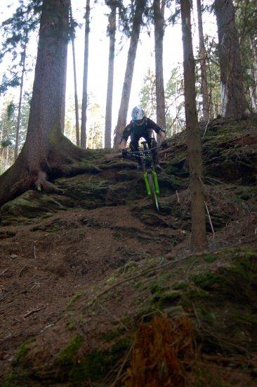 Felswand - Secret Trail Innsbruck