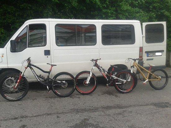 Meine 3 für den Bikepark :)