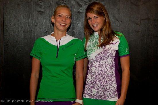 links seht ihr das Modell Sarina, rechts Osprey Bay