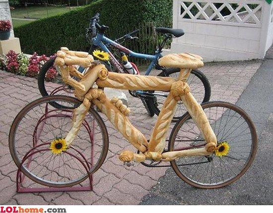 Ein Rad für zum Bäcker