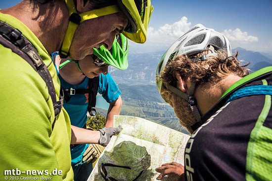 """Wo geht es genau zu den guten Trails? Das Team hinter der Supertrail Map verspricht, dass ihre Markierungen dabei helfen, in unbekannten Regionen die echten """"Supertrails"""" zu finden und im Urlaub ohne Irrfahrten und langes Suchen Spaß zu haben."""