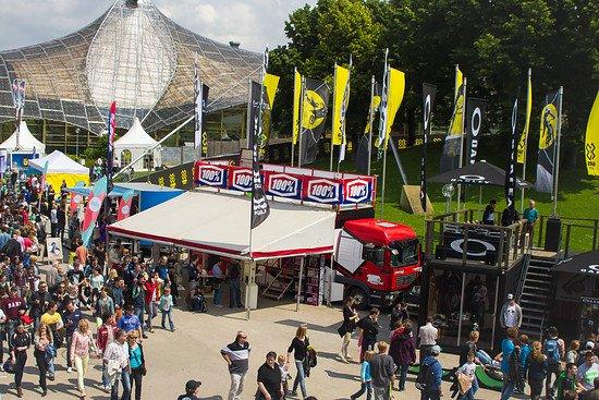 Auch bei den X Games 2013 vertreten - der Sports Nut-Stand