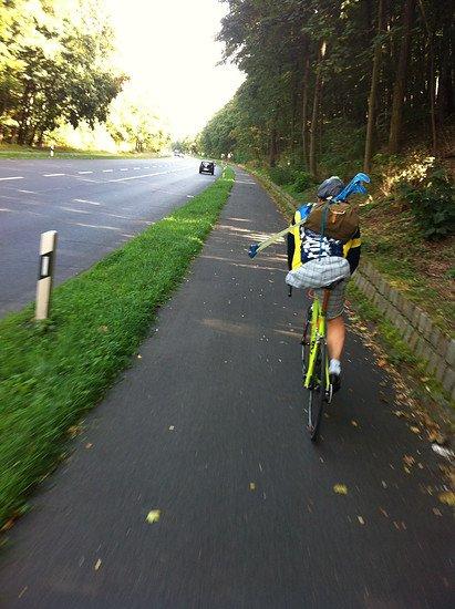 Rider One Leg Hero Patte