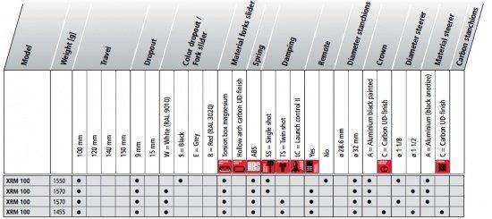 DT Swiss XRM 100 2012