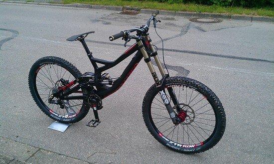 Specialized Demo 2013 custom