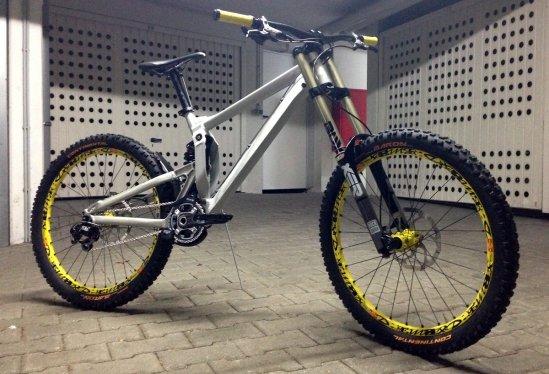 Bodenhaftung Racing Team-Bike 2013