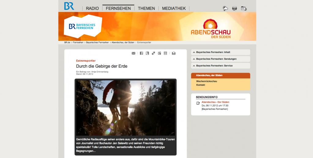 Bayrisches Fernsehen: Durch die Gebirge der Erde