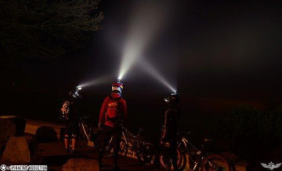 Nightride!!! betrübliche Aussicht.....