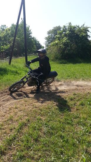 Moped fahren(2)