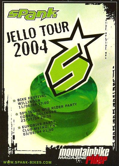 Wer erinnert sich noch? Der berühmte Wodka-Pudding auf der Jello-Tour